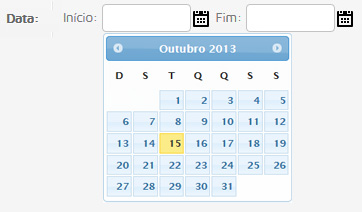 Modelo Datepicker