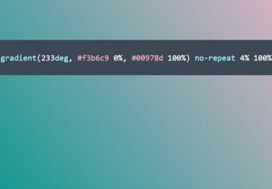 Dica de Site: Trabalhando Gradiente no CSS
